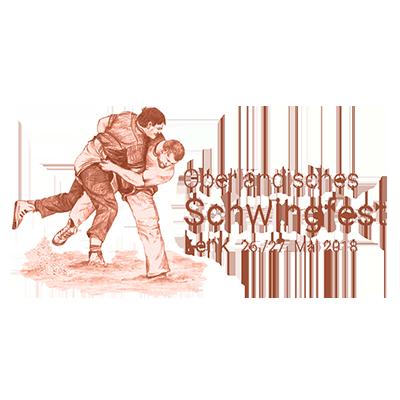 Logo Oberländisches Schwingfest Lenk 2018